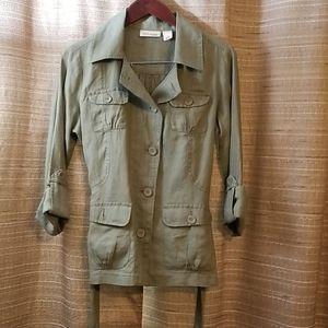 DKNY petites jacket